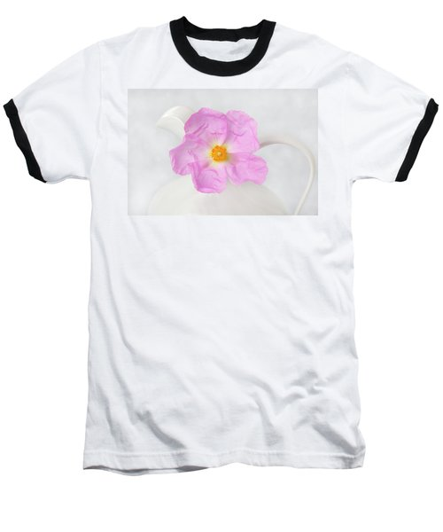 Purple Bloom Baseball T-Shirt