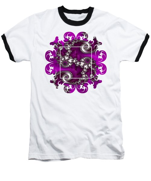 Purple Dragon Baseball T-Shirt