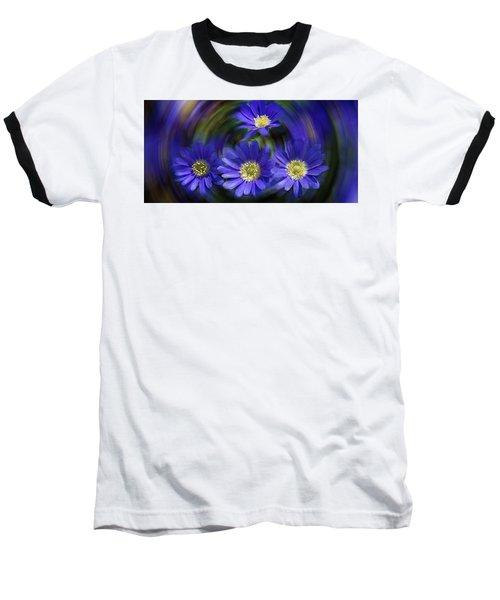 Purple In Nature Baseball T-Shirt