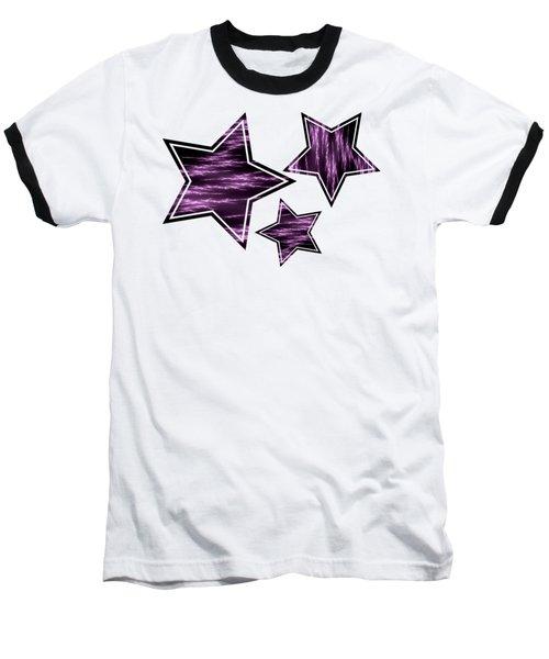 Purple Lightening Baseball T-Shirt