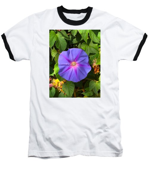 Purple Star Baseball T-Shirt