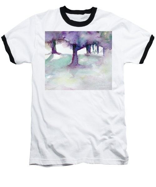 Purplescape II Baseball T-Shirt