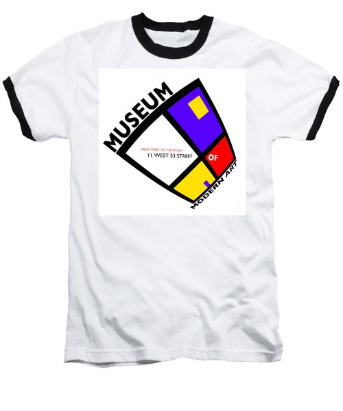 Putting On De Stijl Baseball T-Shirt