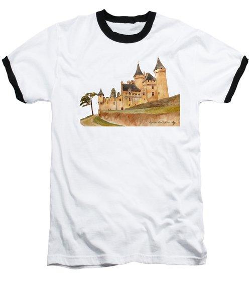 Puymartin Castle Baseball T-Shirt