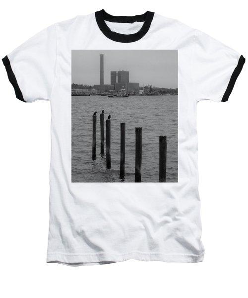 Q. River Baseball T-Shirt by John Scates