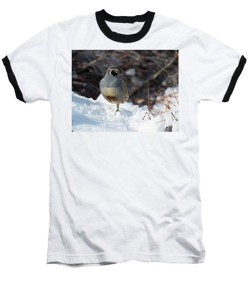 Quail Hollow Baseball T-Shirt by Scott Warner