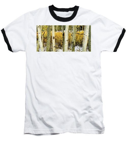 Quakies And Willows In Autumn Baseball T-Shirt