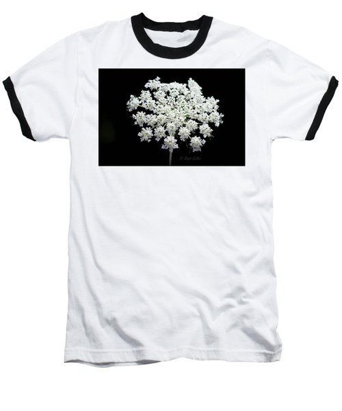 Queen Anne's Lace Baseball T-Shirt