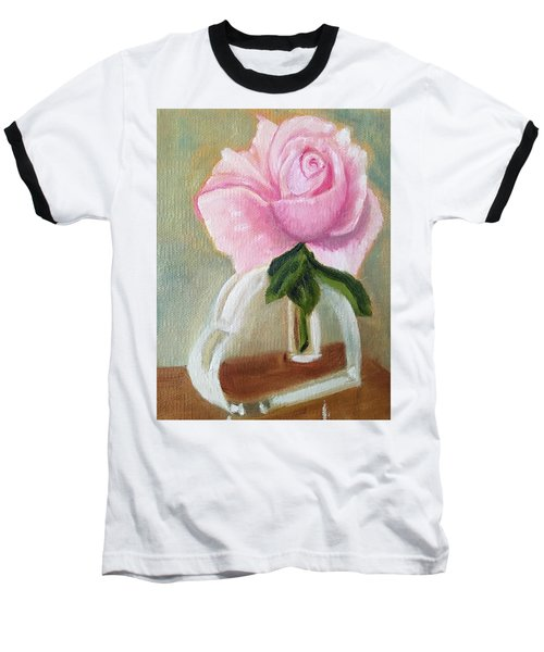 Baseball T-Shirt featuring the painting Queen Elizabeth by Sharon Schultz