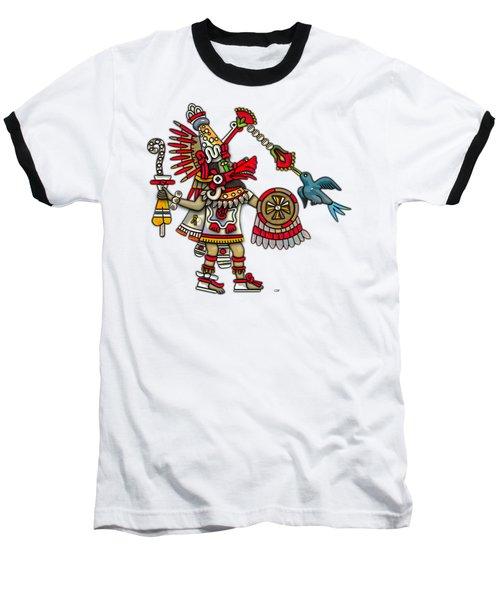 Quetzalcoatl In Human Warrior Form - Codex Magliabechiano Baseball T-Shirt