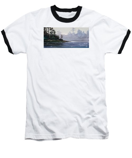 Quiet Shore Baseball T-Shirt by James Williamson