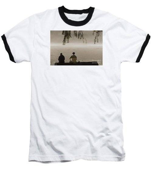 Baseball T-Shirt featuring the photograph Quiet Time by Inge Riis McDonald