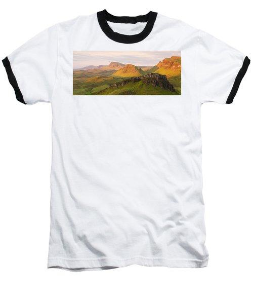 Quiraing Panorama Baseball T-Shirt