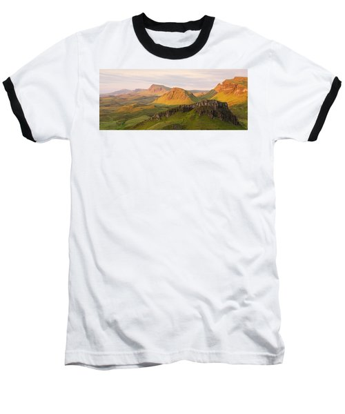 Quiraing Panorama Baseball T-Shirt