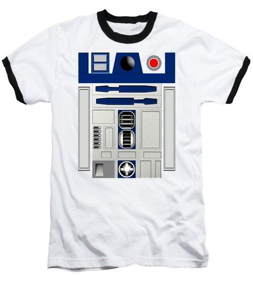 R2d2 Baseball T-Shirt by Janis Marika