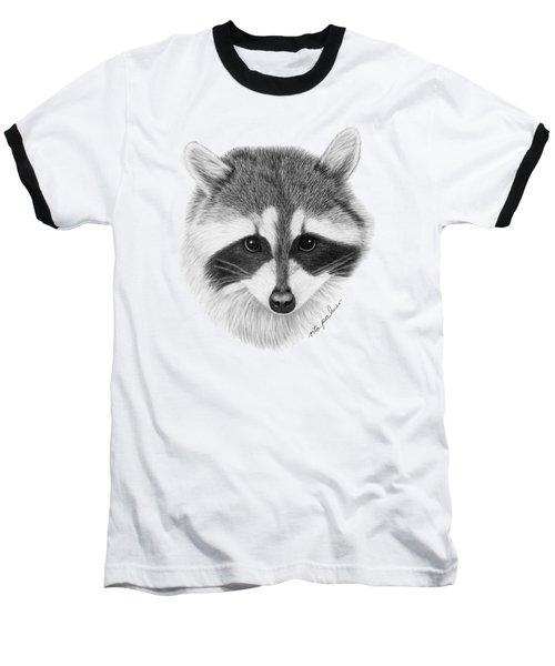 Raccoon Baseball T-Shirt by Rita Palmer