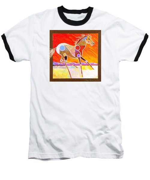 Racing The Desert Baseball T-Shirt by Bob Coonts