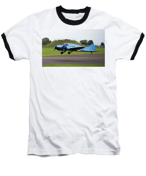 Raf Scampton 2017 - Avro Anson Nineteen During Take Off Baseball T-Shirt