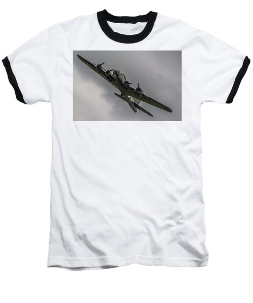 Raf Scampton 2017 - B-17 Flying Fortress Sally B Turning Baseball T-Shirt