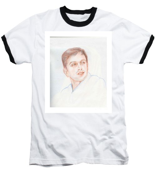 Rahul Dravid  Indian Cricketer Baseball T-Shirt