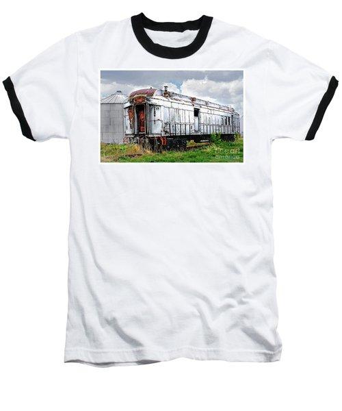 Rail Car Baseball T-Shirt