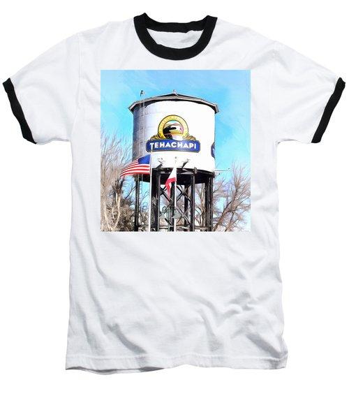 Baseball T-Shirt featuring the photograph Railroad Park Tehachapi California Detail by Floyd Snyder