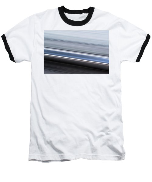 Baseball T-Shirt featuring the photograph Railway Lines by John Williams