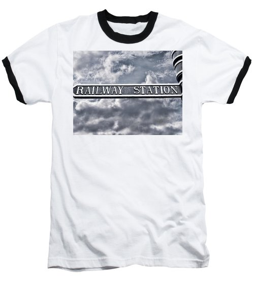Railway Station Baseball T-Shirt
