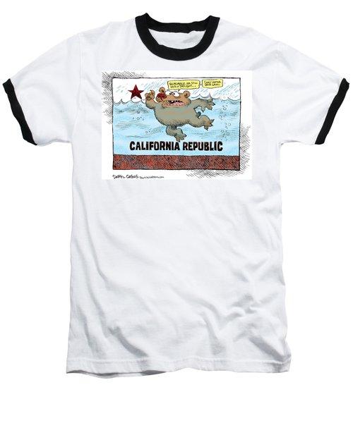 Rain And Drought In California Baseball T-Shirt