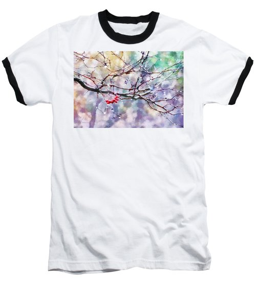Rain Berries Baseball T-Shirt