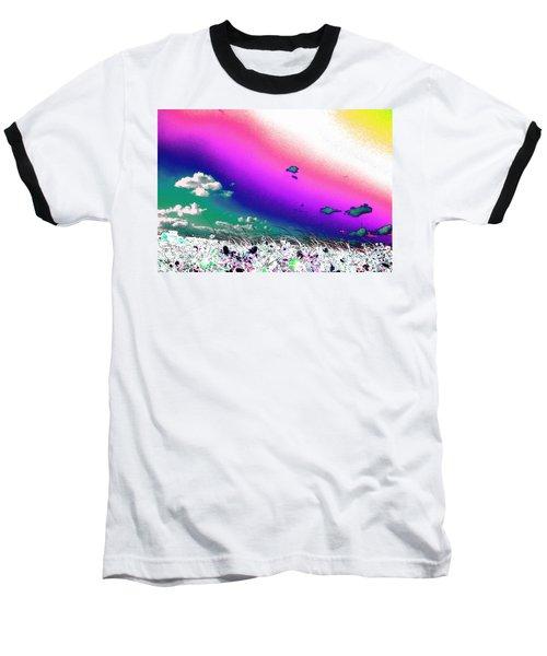 Rainbow Borealis Baseball T-Shirt