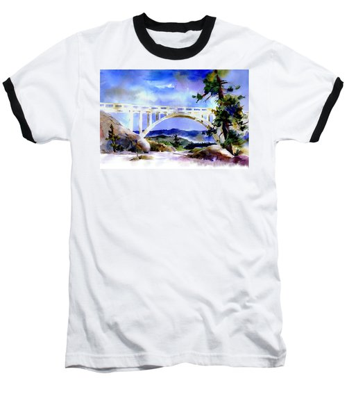 Rainbow Bridge Above Donnerlk#2 Baseball T-Shirt
