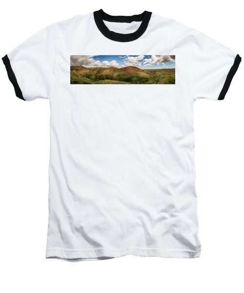 Rainbow Mountain Baseball T-Shirt