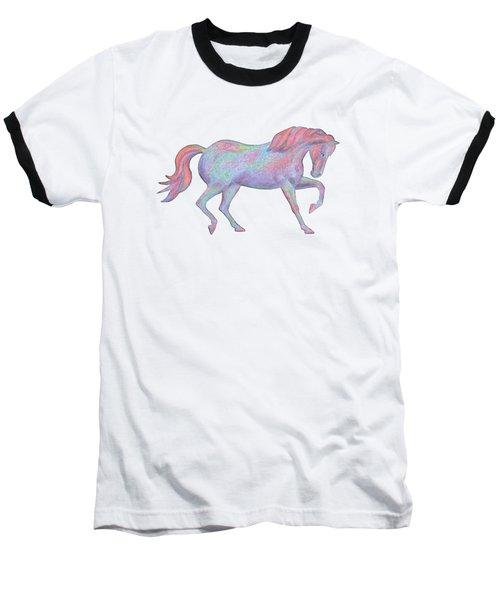 Rainbow Pony II Baseball T-Shirt
