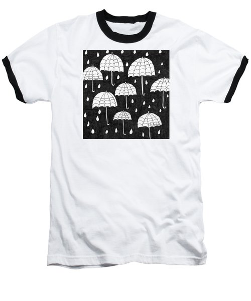 Raindrops Baseball T-Shirt