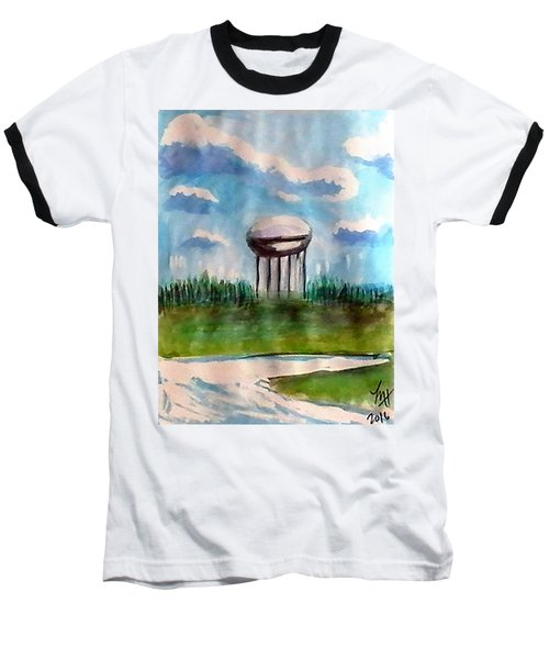 Raines Road Watertower Baseball T-Shirt