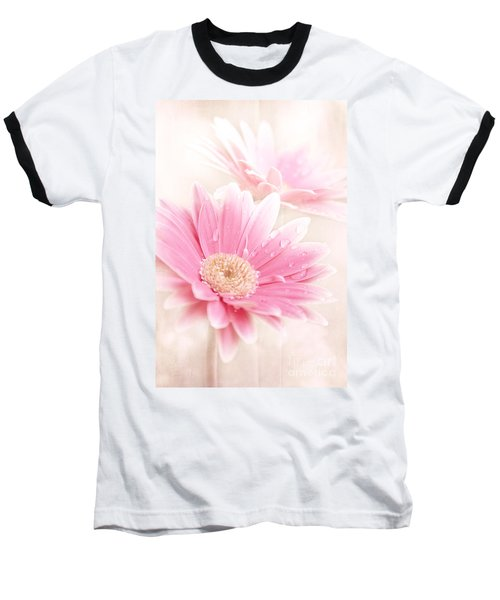 Raining Petals Baseball T-Shirt