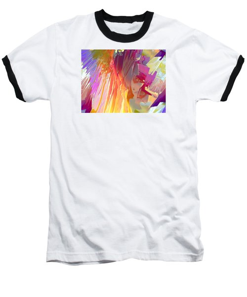 Rainshower Baseball T-Shirt by Alika Kumar