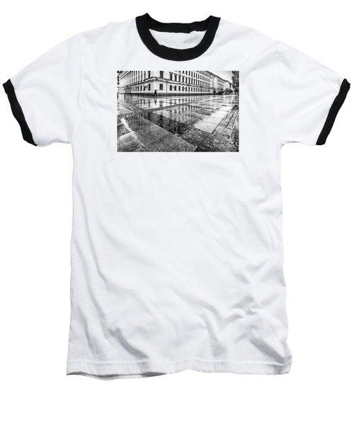 Baseball T-Shirt featuring the photograph Rainy Day by Jivko Nakev