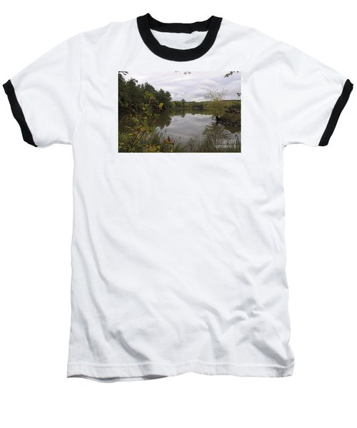 Baseball T-Shirt featuring the photograph Rainy Day Reflections by Sandra Updyke