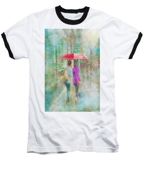 Rainy In Paris 1 Baseball T-Shirt
