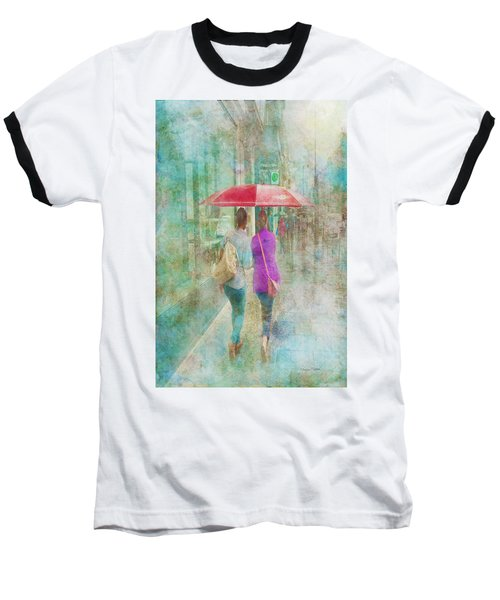 Rainy In Paris 1 Baseball T-Shirt