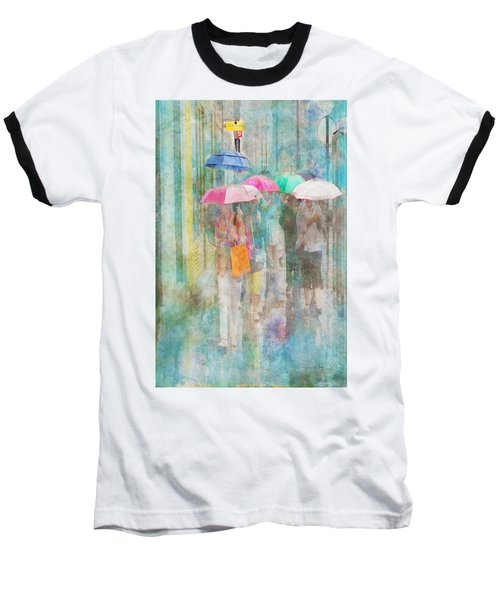 Rainy In Paris 2 Baseball T-Shirt