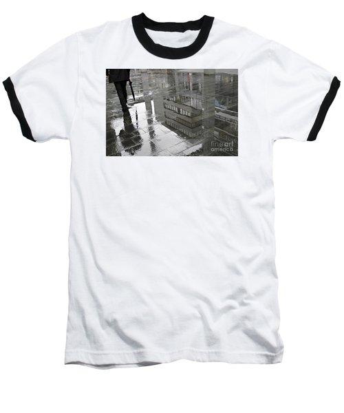 Rainy Morning In Mainz Baseball T-Shirt by Sarah Loft