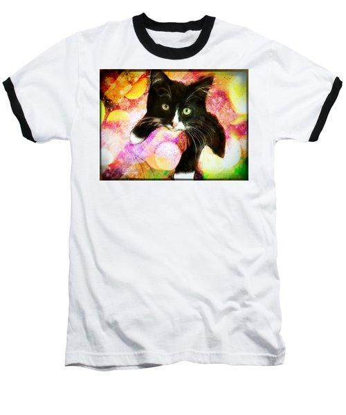 Rama The Miracle Cat Baseball T-Shirt