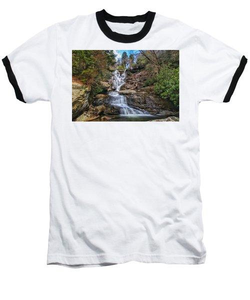 Ramsey Cascades - Tennessee Waterfall Baseball T-Shirt