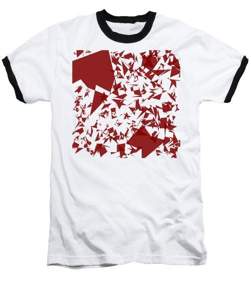 Random Shreds Baseball T-Shirt by Keshava Shukla