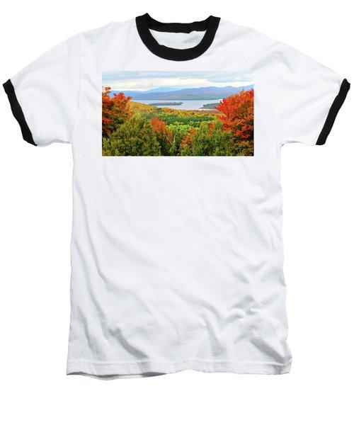 Rangeley Lake And Rangeley Plantation Baseball T-Shirt