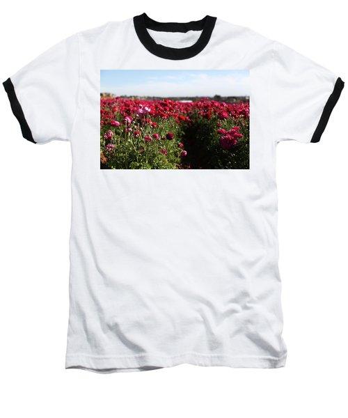 Ranunculus Field Baseball T-Shirt