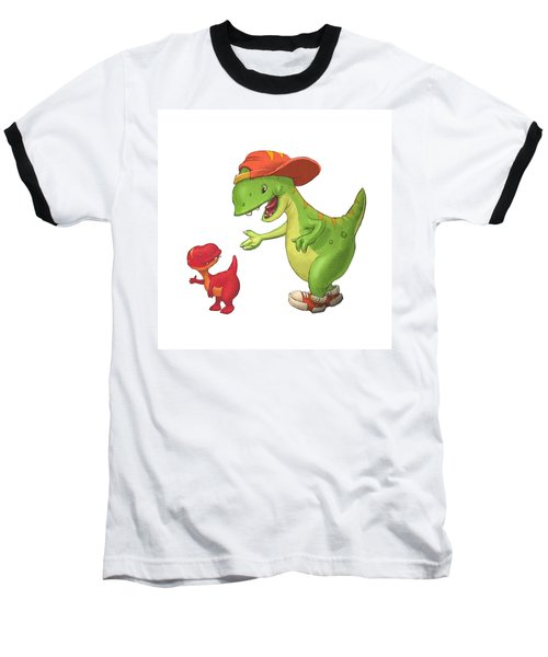 Rap-rap Raptor Baseball T-Shirt